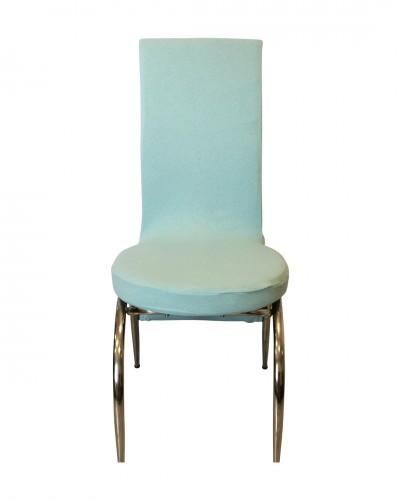 Fransız Kumaş Kelebek Model Bebe Mavisi Sandalye...