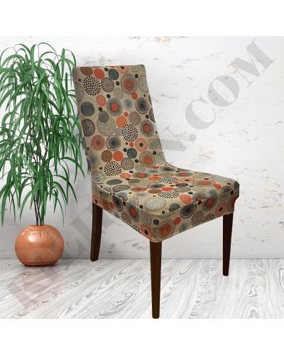 DS-01 Digital Baskı Bal Peteği Streç Kumaş Sandalye Kılıfı