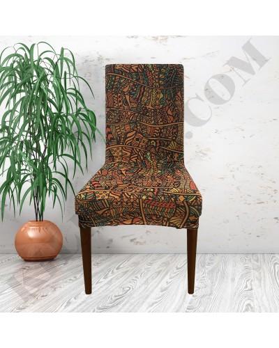 DS-02 Digital Baskı Bal Peteği Streç Kumaş Sandalye Kılıfı