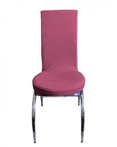 Bal Peteği Kelebek Model Gül Kurusu Sandalye Kı...