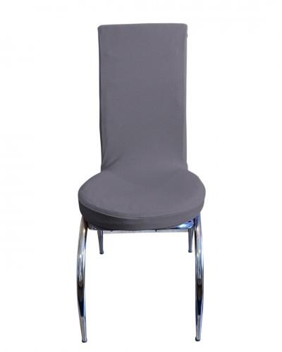 Bal Peteği Kelebek Model Gri Sandalye Kılıfı