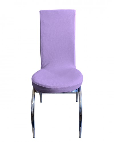 Bal Peteği Kelebek Model Lila Sandalye Kılıfı