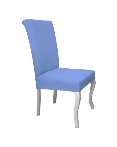 Bal Peteği Avangarde Mavi Sandalye Kılıfı