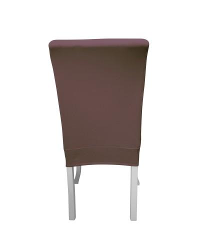Bal Peteği Avangarde Kahverengi Sandalye Kılıfı