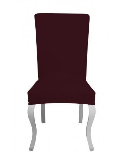 Fransız Pamuklu Avangarde Mürdüm Sandalye Kıl�...