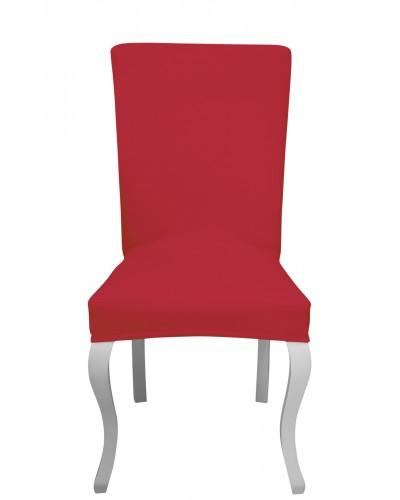 Fransız Pamuklu Avangarde Kırmızı Sandalye Kı...
