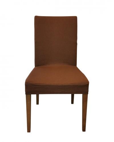 Fransız Pamuklu K.Kiremit Sandalye Kılıfı