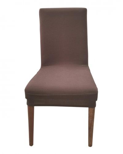 Petikare  Kahverengi Sandalye Kılıfı