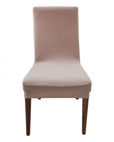 Petikare  Bej Sandalye Kılıfı